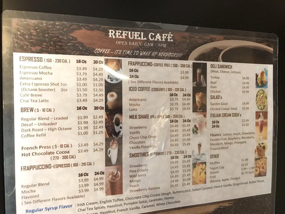 refuel cafe coffee tea 6894 centennial blvd colorado springs co phone number yelp