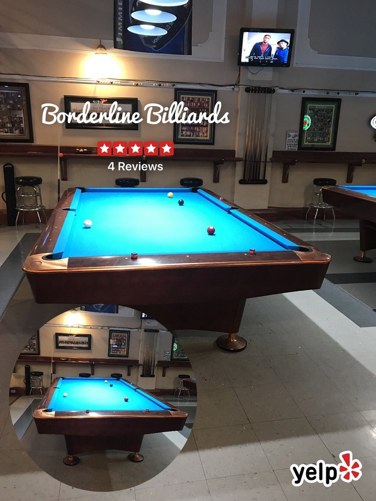 Borderline Billiards: 628 State St, Bristol, TN