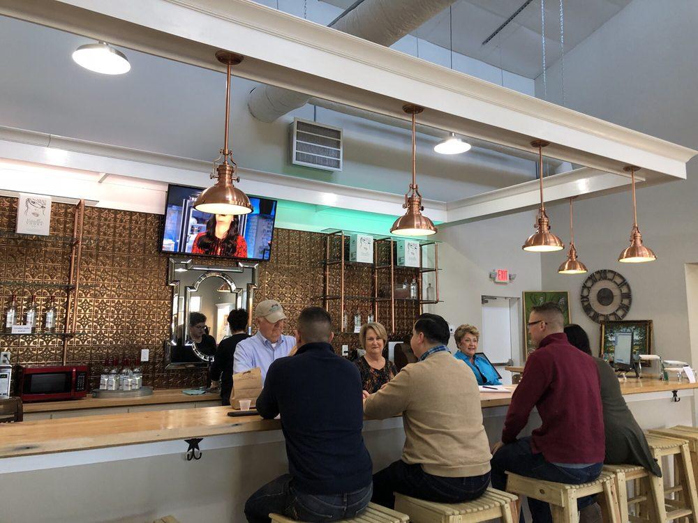 Bogue Sound Distillery: 108 Bogue Commercial Dr, Newport, NC