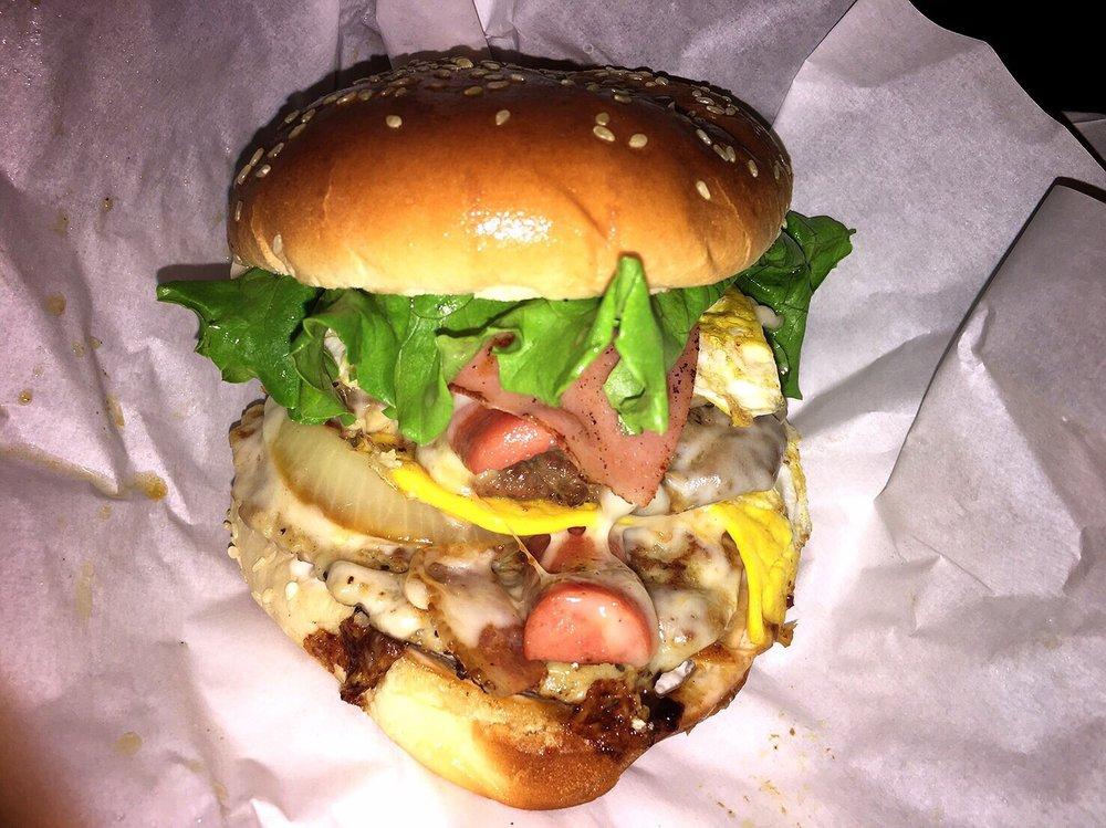 Junior Barbecue Burger
