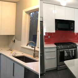 Photo of Interior Decor NY - Brooklyn NY United States. Kitchen Backsplash. & Interior Decor NY - 18 Photos - Interior Design - 1206 Neptune Ave ...
