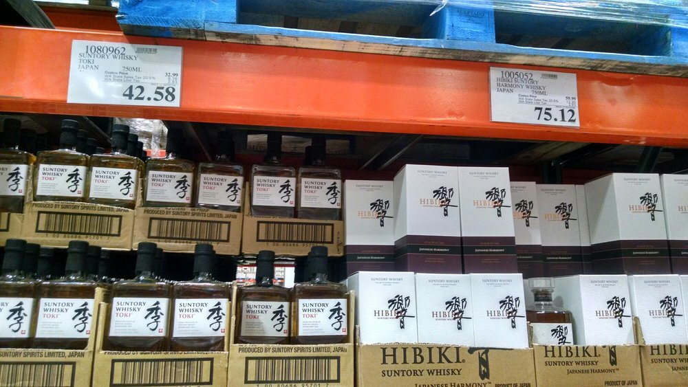 Suntory Japanese Whisky (Toki & Hibiki) - Yelp