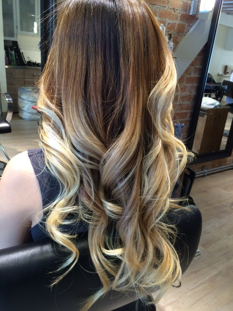 Cool Tone Blonde Ombre Balayage Yelp