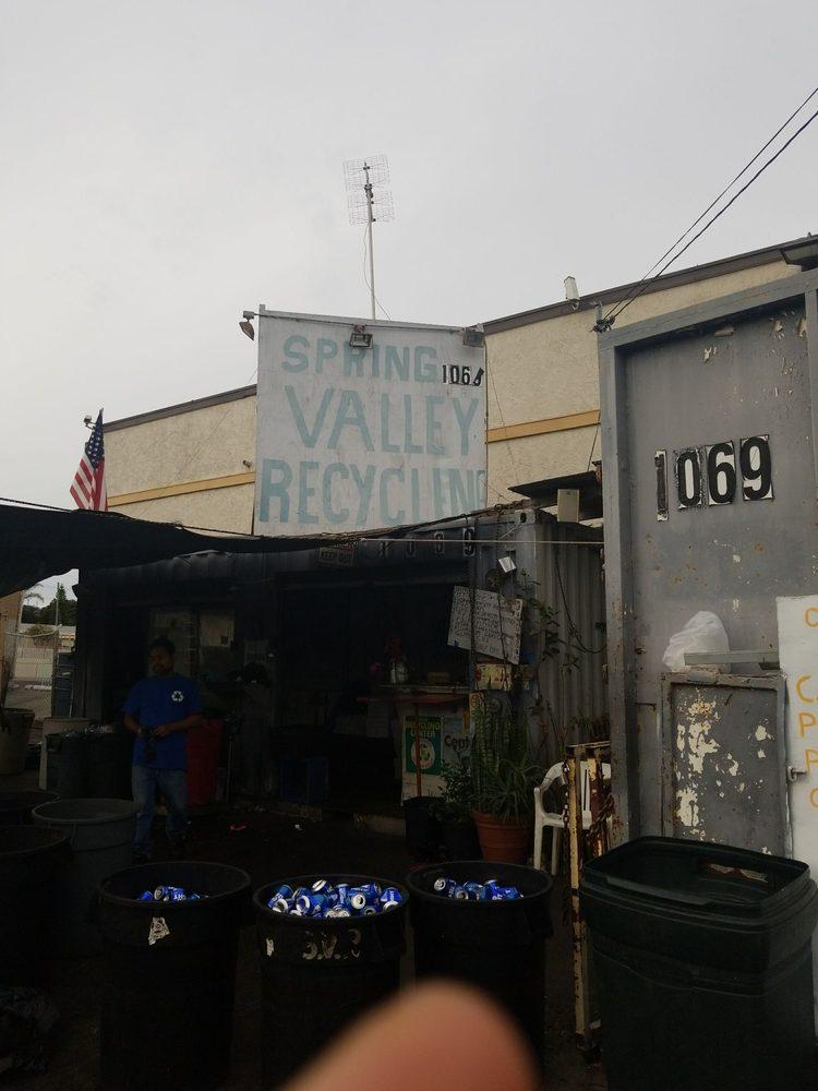 Spring Valley Recycling: 1069 Elkelton Blvd, Spring Valley, CA