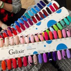 Photo Of Q Nails Winnetka Ca United States Gel Polish Options