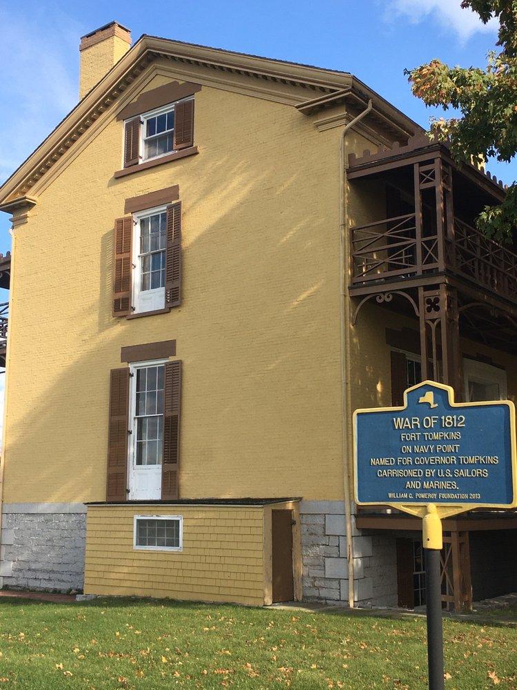 Sackets Harbor Battlefield Site: 504 W Main St, Sackets Harbor, NY