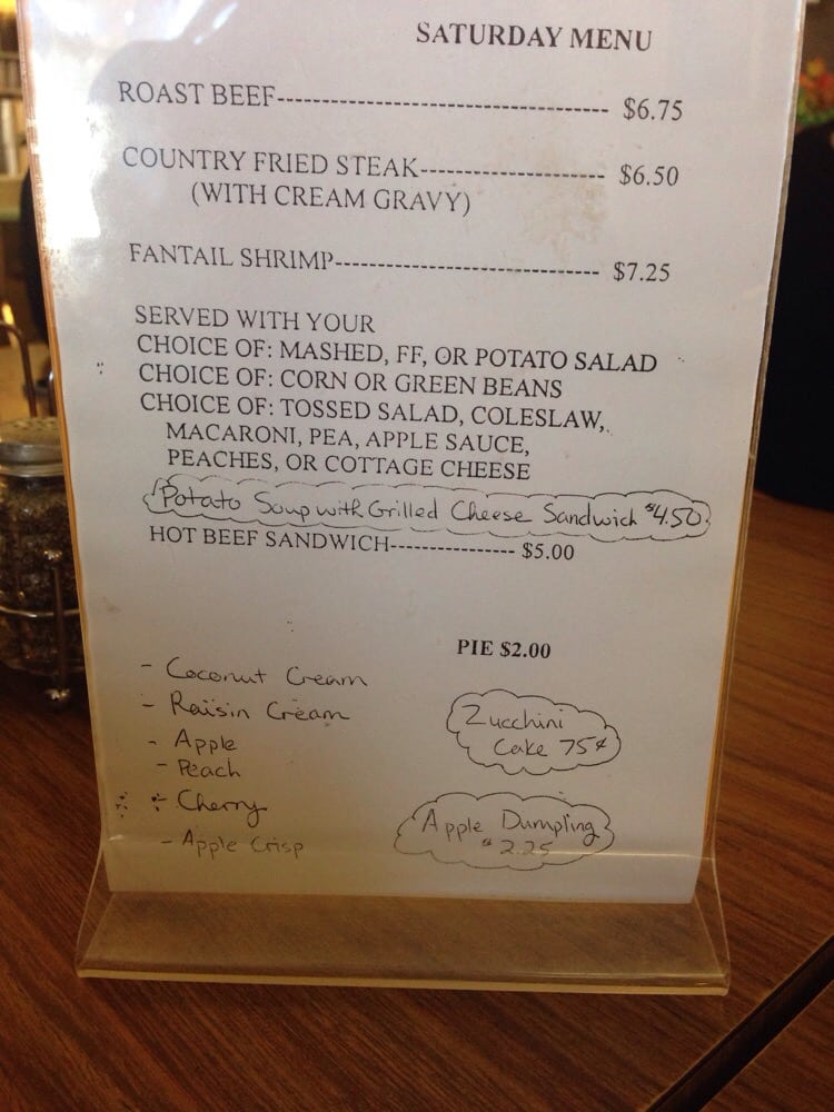 Longford Coachlight Restaurant: 114 Weda St, Longford, KS