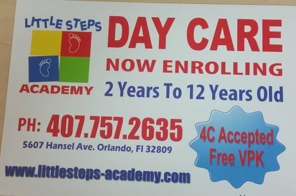 Litte Steps Academy: 5607 Hansel Ave, Orlando, FL