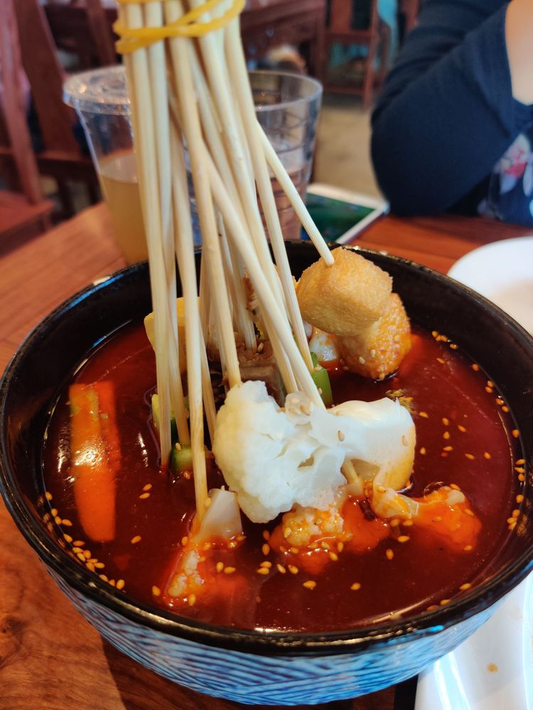Cold spicy sticks, too salty - Yelp