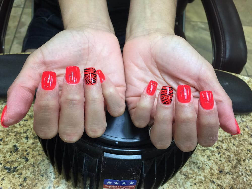 Photo Of Hollywood Nails Abilene Tx United States Sns Healthy Natural