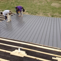 Photo Of Athens Roof Tech   Athens, GA, United States. Metal Roof Install