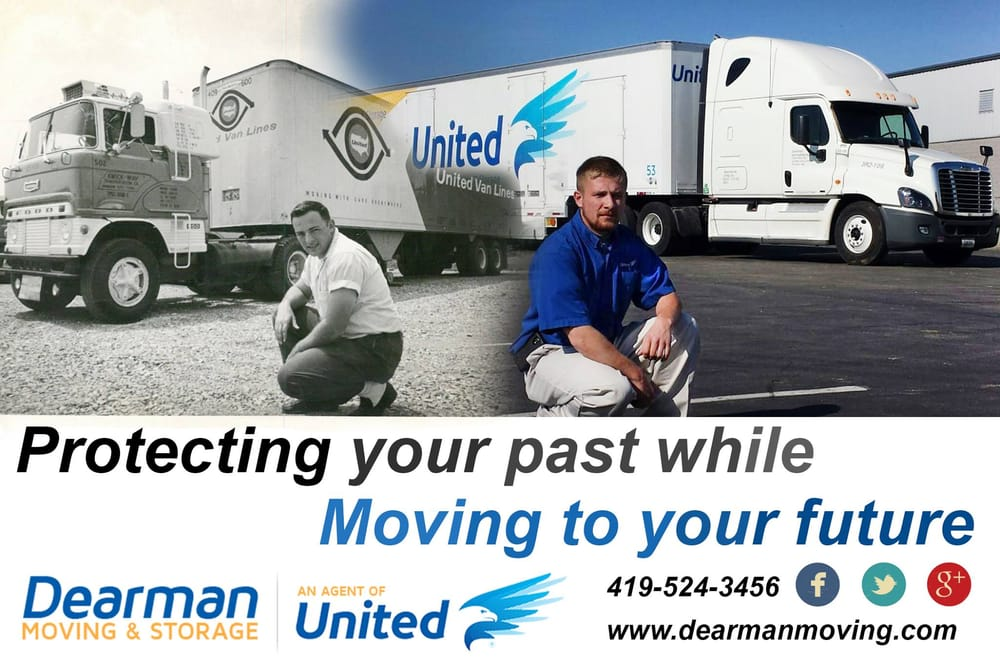 Dearman Moving & Storage Company: 961 N. Main St, Mansfield, OH