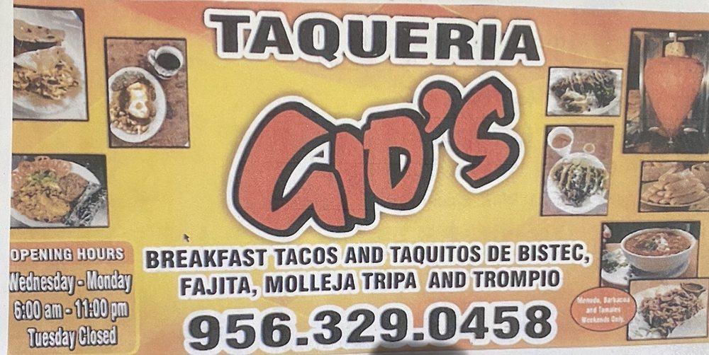 Gios Drive Thru: 15137 FM2812, Edcouch, TX