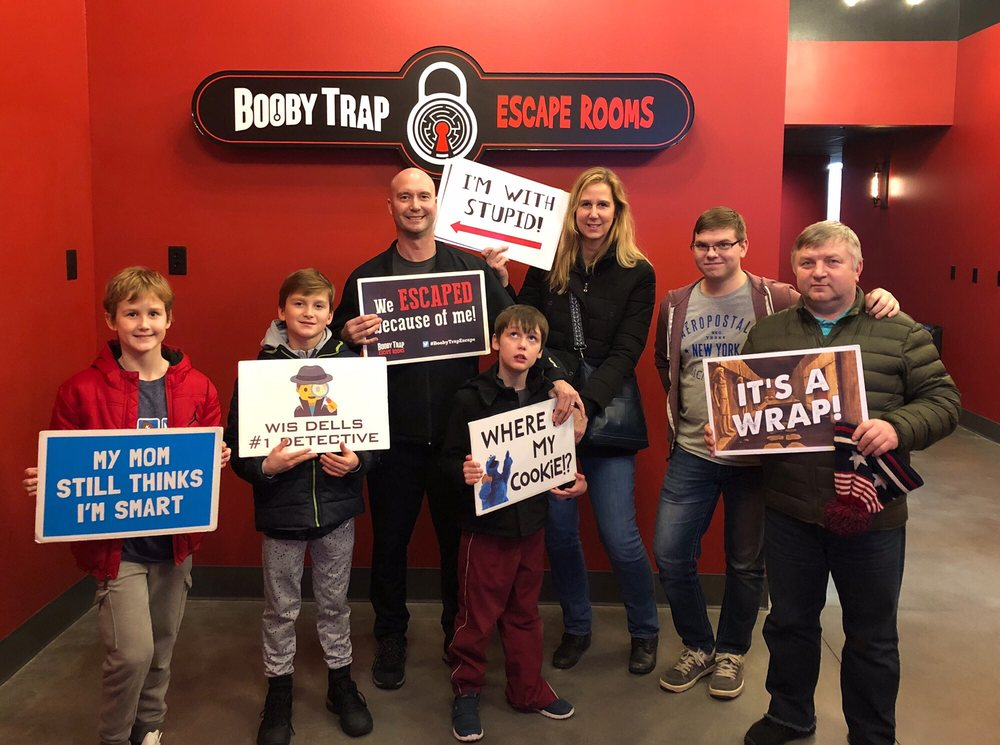 Booby Trap Escape Rooms: 100 N Gasser Rd, Wisconsin Dells, WI