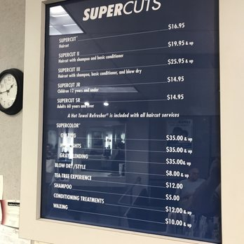 haircut prices supercuts supercuts 18 photos amp 17 reviews hair salons 4720 e 6276 | 348s