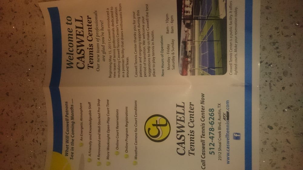 Caswell Tennis Center
