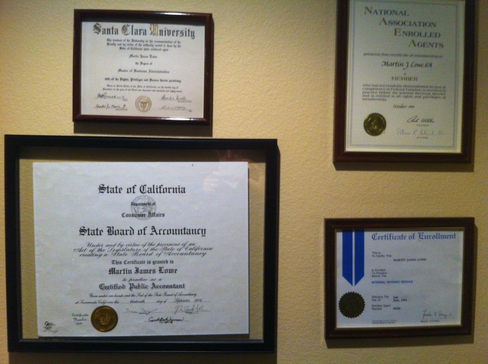 Cpa License Ea Designation And Degrees Bsaccounting And Mba