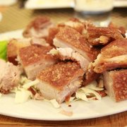 Wonderful Garlic Rice Photo Of Patio Filipino   San Bruno, CA, United States. Lechon  Kawali