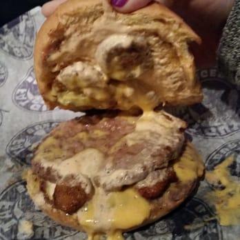 Fat Guy S Burger Bar Burgers Downtown Yelp