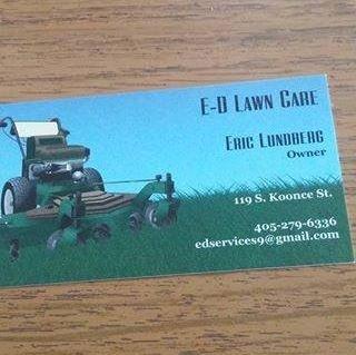 E-D Lawn Care: 119 S Koonce St, Meeker, OK