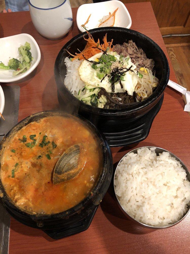 Food from Korea Garden Restaurant