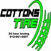 Cottons Tires: 313 W Ogeechee St, Sylvania, GA