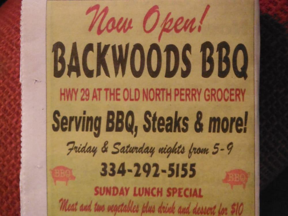 Backwoods BBQ: Highway 29, Marion, AL