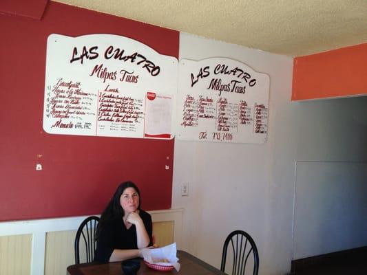 Las Milpas Restaurant Menu