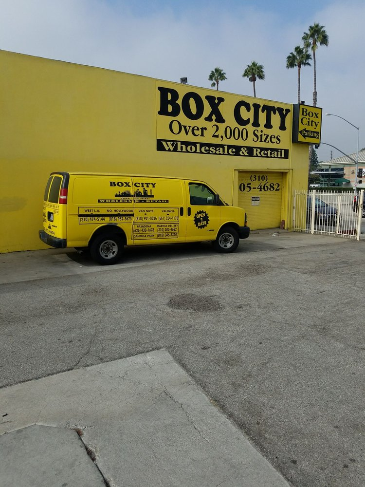 Box City: 13452 Washington Blvd, Marina Del Rey, CA