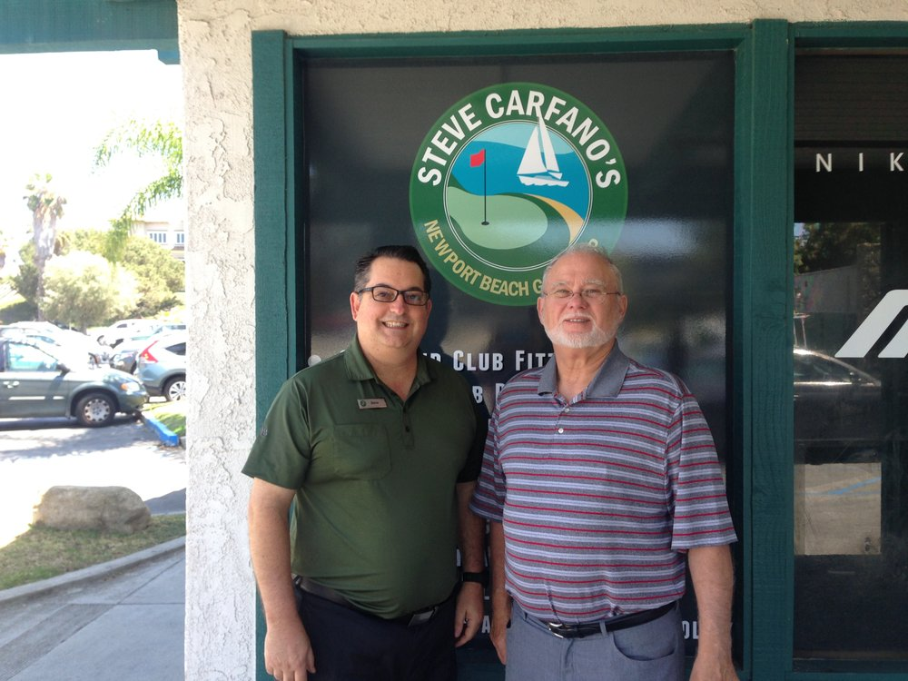 Steve Carfano's Newport Beach Golf Shop / Store