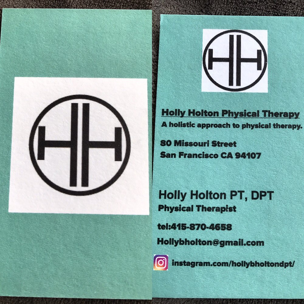 Holly Holton Physical Therapy business card. - Yelp
