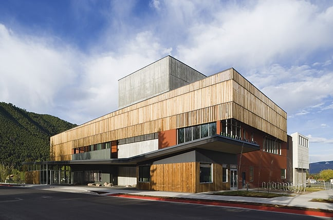 Center For the Arts: 265 S Cache St, Jackson, WY