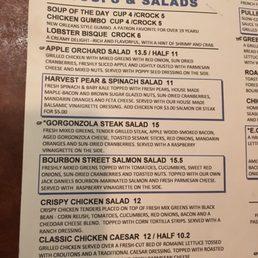 Eg nicks plymouth menu