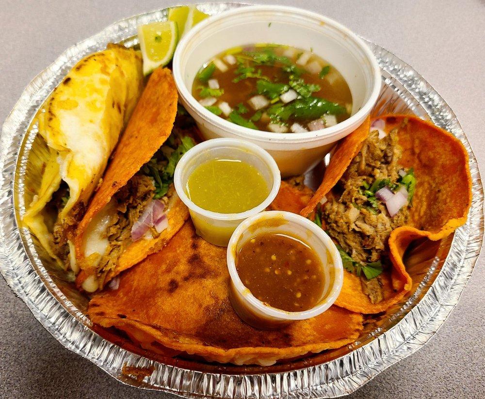 Fire Tacos De Birria: 105 W Smith St, Kent, WA