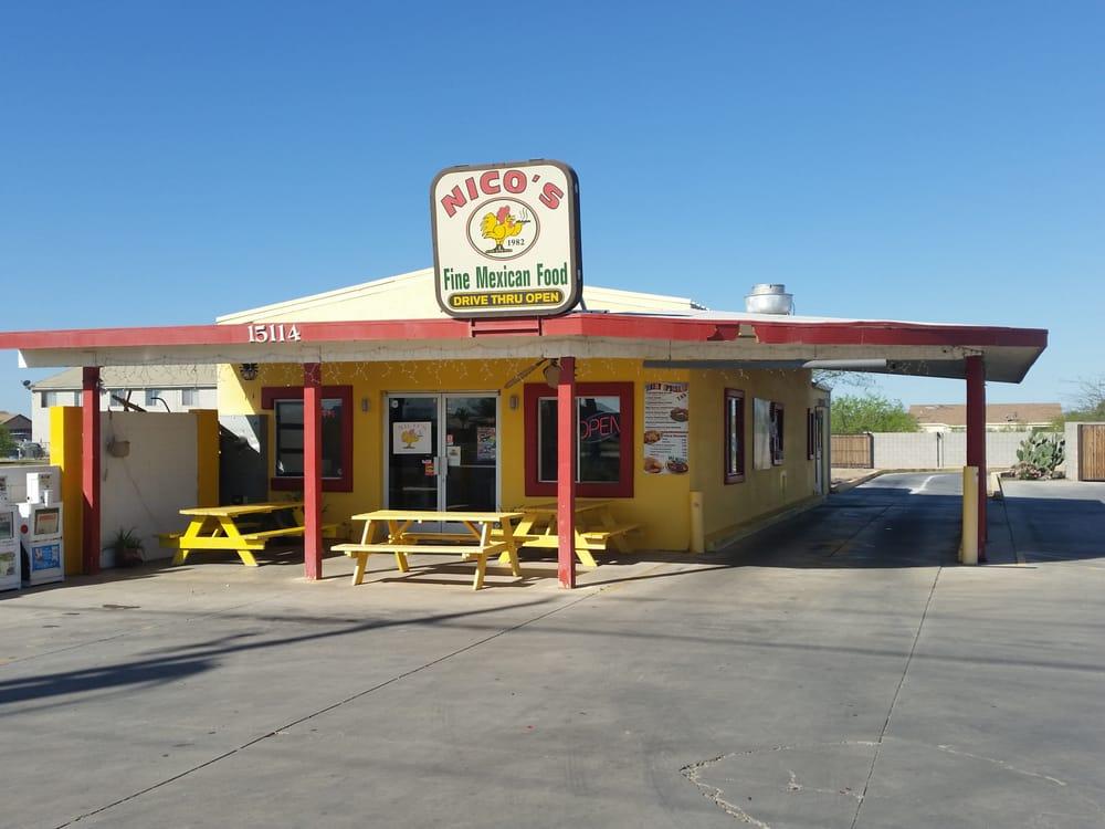 Nicos Mexican Food: 15114 S Sunland Gin Rd, Arizona City, AZ