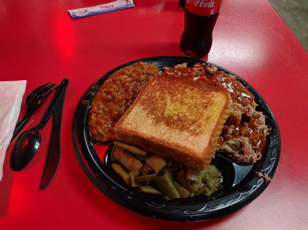 Food from Good Ole Boys BBQ