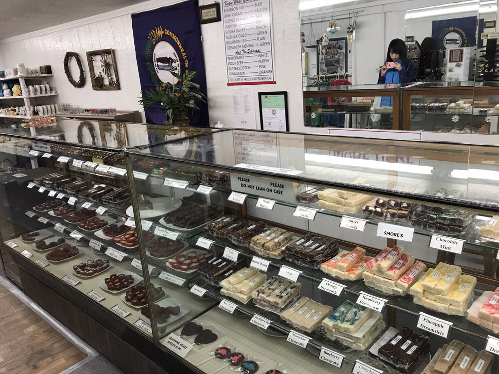 Chasers Kentucky Chocolates: 812 Mammoth Cave Rd, Cave City, KY