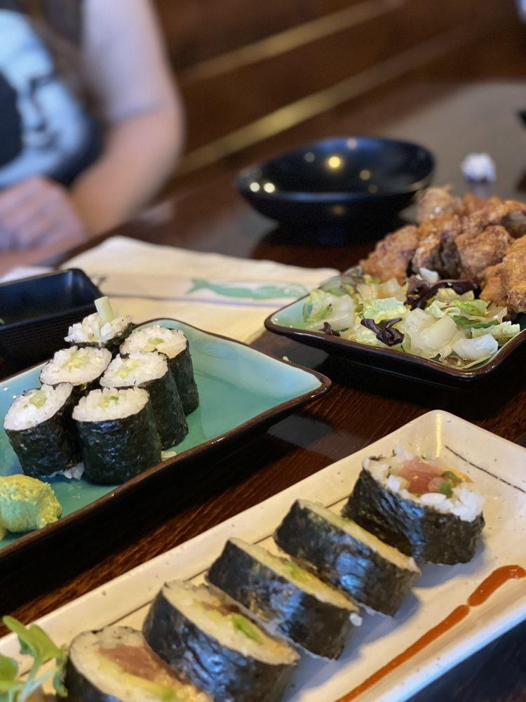 Food from Hokkai Ramen & Sushi