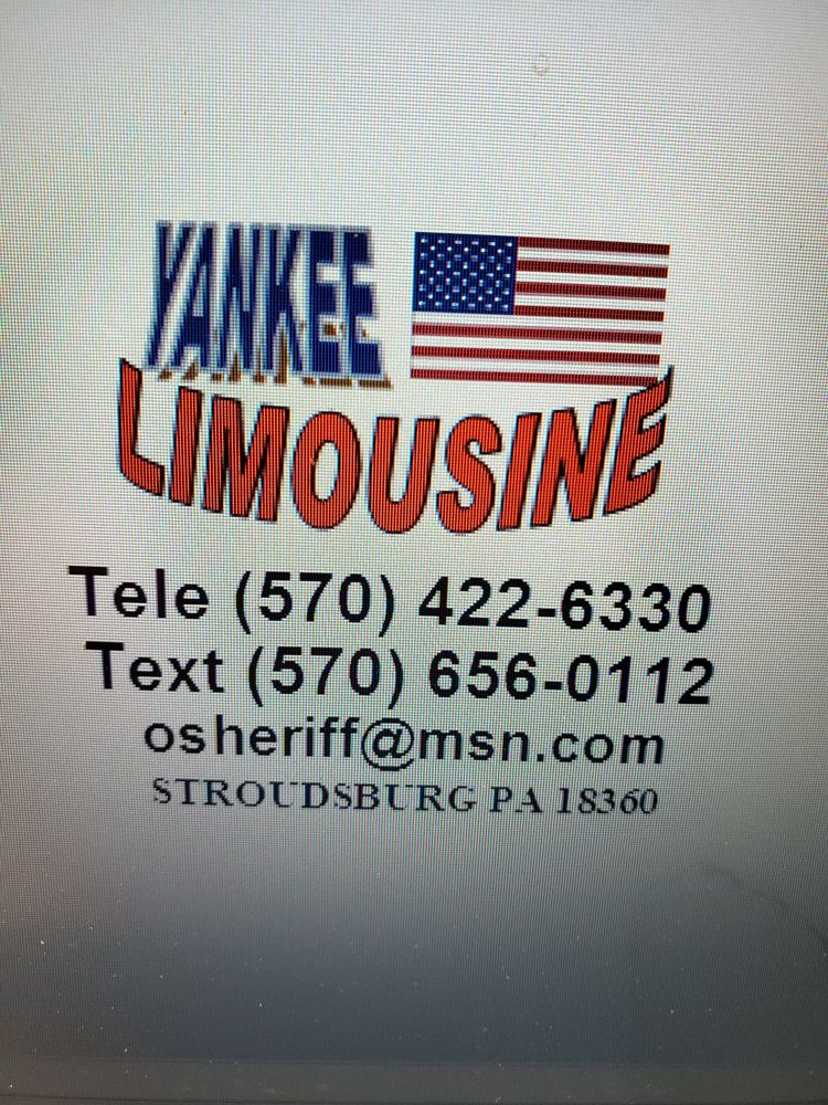 Yankee Limousine: 1129 W Main St, Stroudsburg, PA