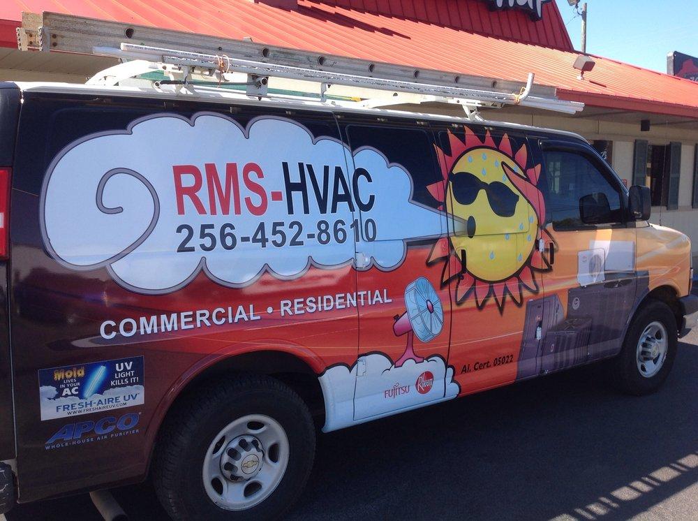 RMS, LLC HVAC Services: 1395 Choccolocco Rd, Anniston, AL