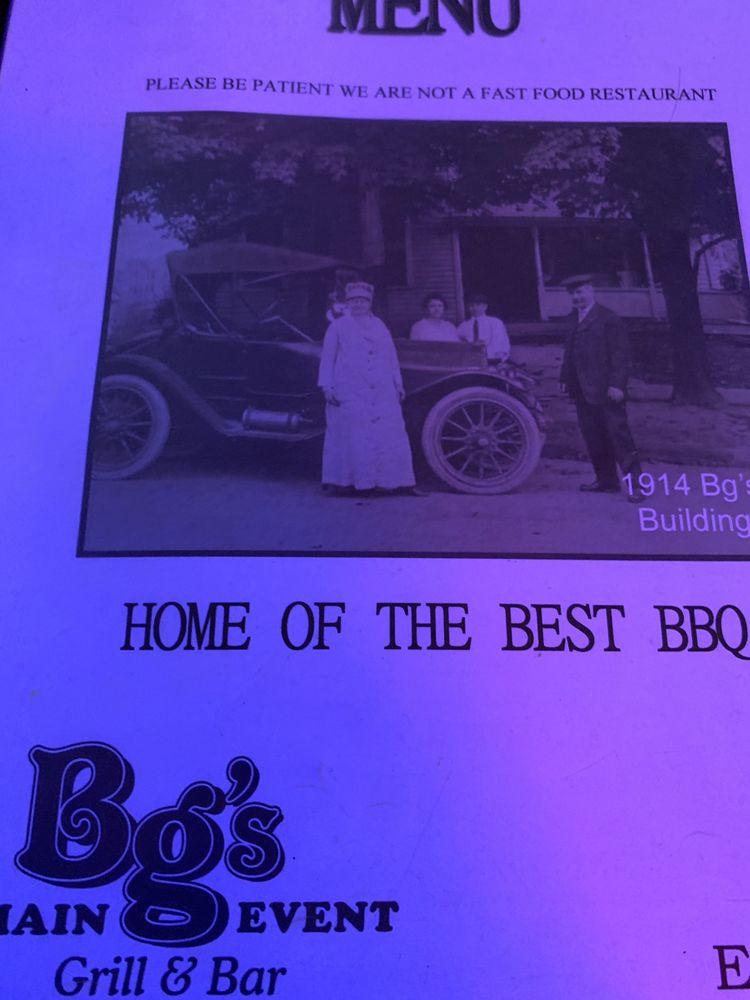 Bg's Main Event: 124 S Main St, Rittman, OH
