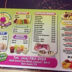La Michoacana Ice Cream Frozen Yogurt 1618 N Veterans Blvd