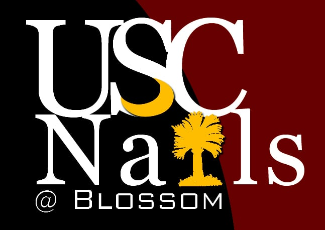 USC Nails @ Blossom Columbia, SC, United States. USC Nails logo