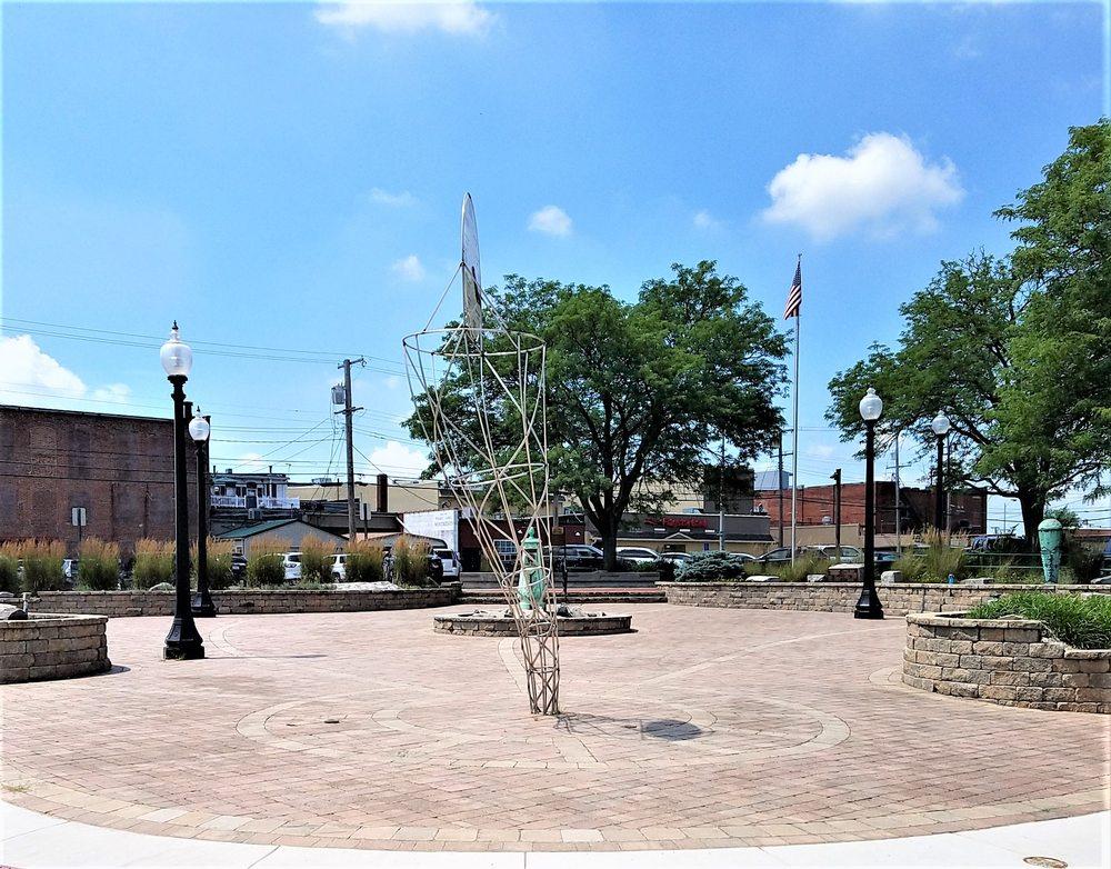 Tornado Memorial: W Broadway St & S Bluff St, Monticello, IN