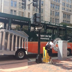 Trolley Tours Dc Pay On The Bus