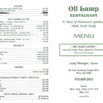 Oil Lamp Restaurant - 19 Photos & 29 Reviews - American (New ...