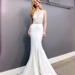 discount wedding dresses los angeles. photo of aria - los angeles, ca, united states. illusion neckline trumpet gown discount wedding dresses angeles e