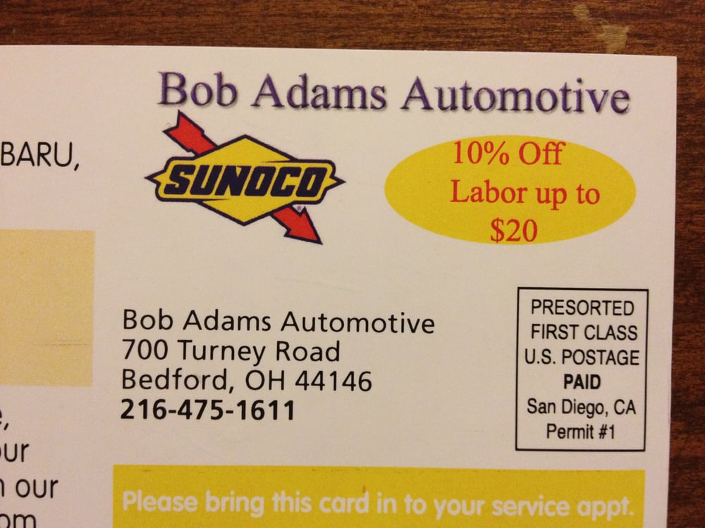 Bob Adams Automotive