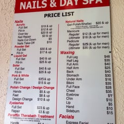 Luxury nails day spa nail salons 3636 ramsey st for A list nail salon