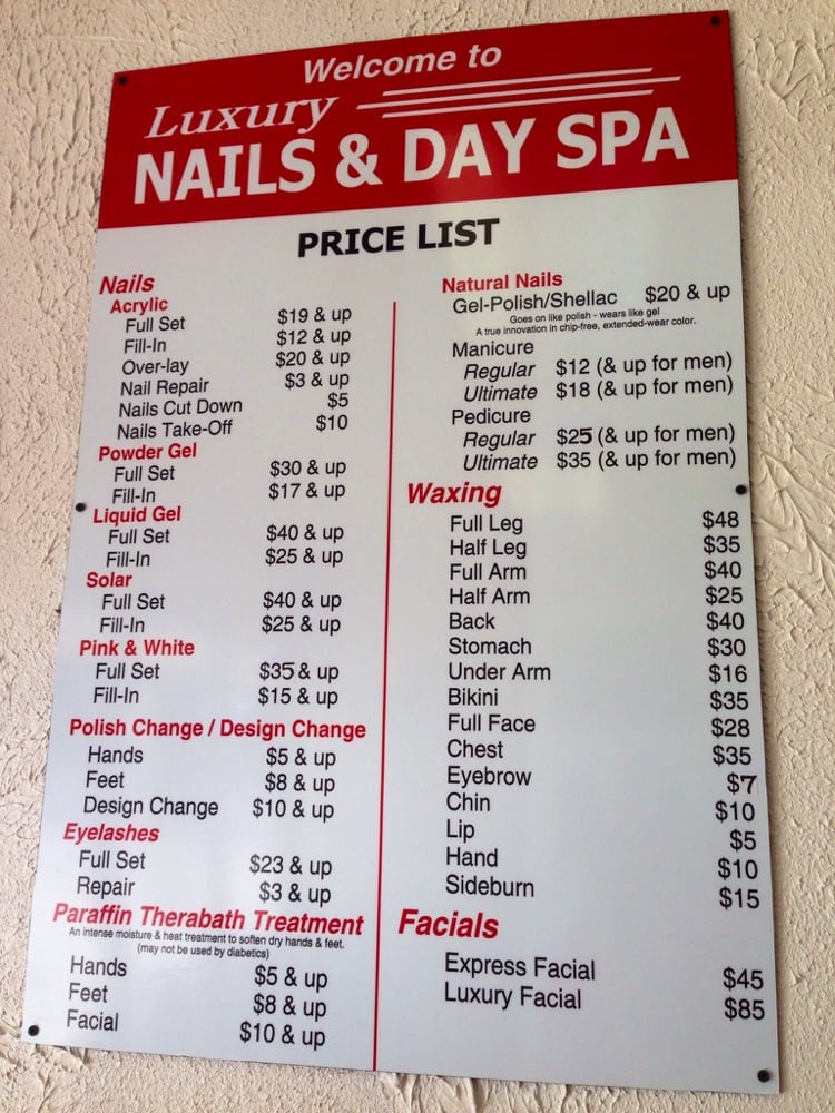 Nail And Day Spa Ramsey St Fayetteville Nc